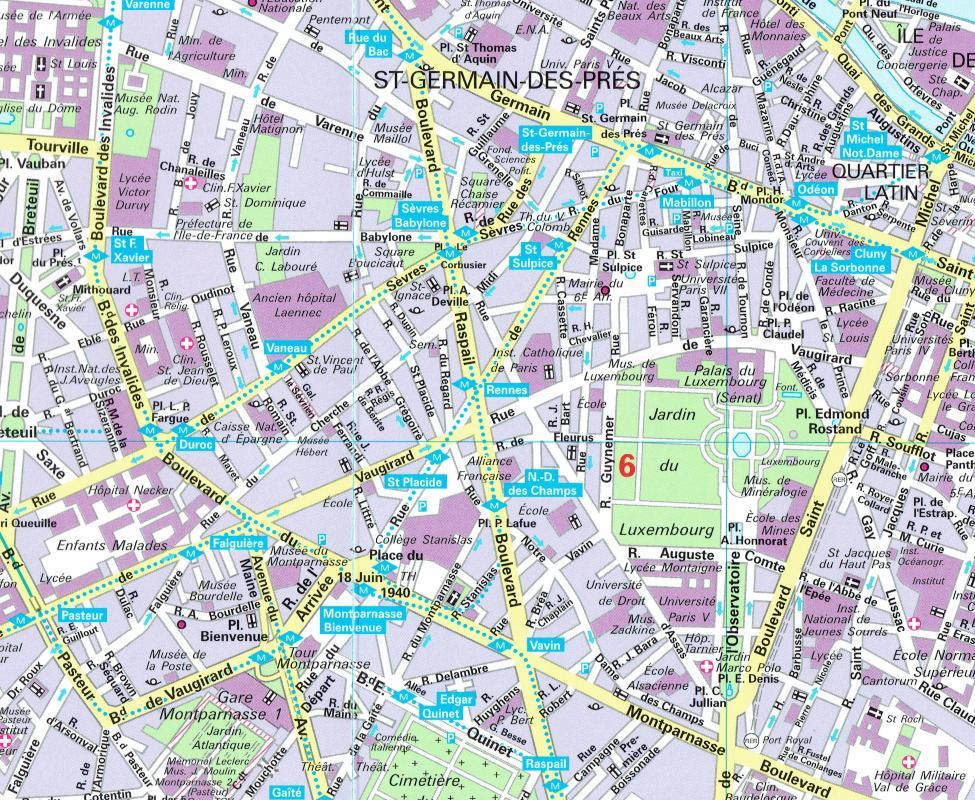 maps city maps atlases paris city flash map